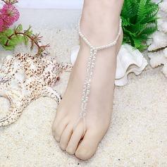 Cristal Verre Bijoux Pied Accessoires