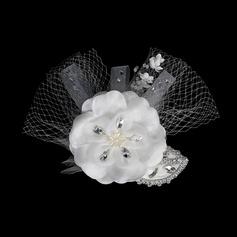 Mode Kristall Kopfschmuck/Blumen und Federn