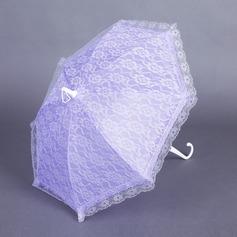 Dulce Terylene/Encaje Parasoles de boda con Bordado