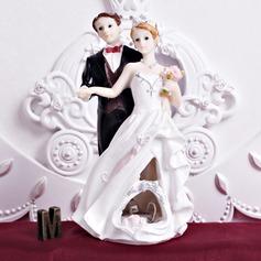 Les nouveaux mariés Résine Mariage Décoration pour gâteaux