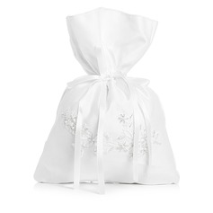 Charming Satin With Imitation Pearl Bridal Purse