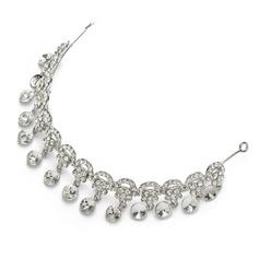 Vackra Och Kristall/Legering Panna smycken