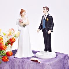 La novia y del novio Resina Boda Decoración de tortas